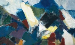 """Am 1. April um 17.00 Uhr findet eine Bildmeditation mit Eva Schöning statt anlässlich der Finissage der Ausstellung """"Kreuzformen"""""""