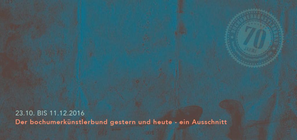 Der Bochumer Künstlerbund gestern und heute – ein Ausschnitt